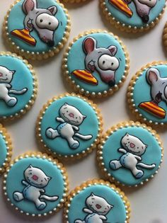 Toopy and binoo sugar cookies..