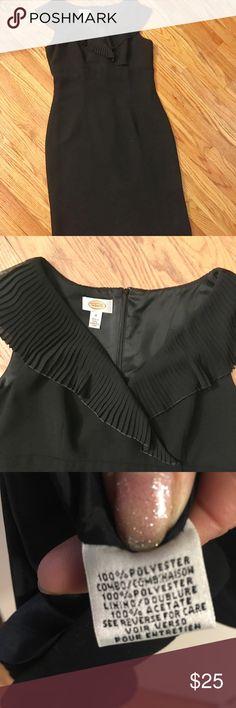 Black COCKTAIL DRESS Size 10 TALBOTS BLACK COCKTAIL DRESS Size 10 Talbots Dresses