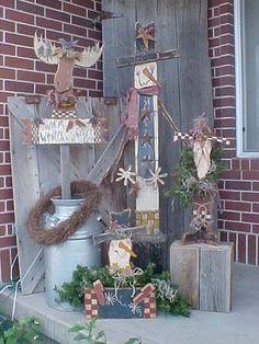 Free Primitive Craft Patterns | Free Design, Wood Craft Patterns, Home and ... | A Very Primitive Chr ...