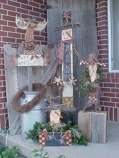 Love Christmas Wood Crafts