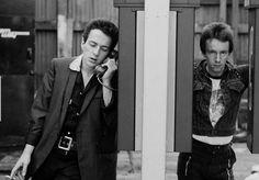 Joe Strummer & Topper Headon
