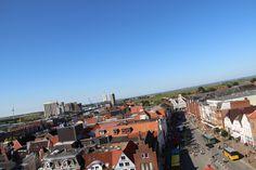Blick von der Marienkirche in Husum