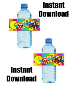 Hey, I found this really awesome Etsy listing at http://www.etsy.com/listing/158590470/totally-80s-party-theme-diy-water-bottle