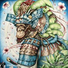 @Regrann from @mediana09 - Прекрасный обезьян для нашего марафона #fantasiacoloringmarathon , который совершенно не хотел сдаваться без боя Но в итоге был побежден и безжалостно раскрашен. Под бледным светом луны получился нежным и романтичным созданием #fantasiacoloringmarathon #coloringbooks #coloringbooks #coloringforadults #coloring #раскраска #раскраскадлявзрослых #раскраскаантистресс #målarbok #大人の塗り絵 #塗り絵 #おとなの塗り絵 #コロリアージュ #컬러링북 #컬러링 #artecomoterapia #boracolorirtop #colorindol...