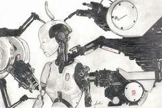 Chris Cunningham All Is Full Of Love robot