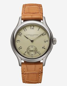 Laurent Ferrier Galet Micro-Rotor 2014 with opaline silver-toned dial | Dress Watches | www.timeandwatches.com