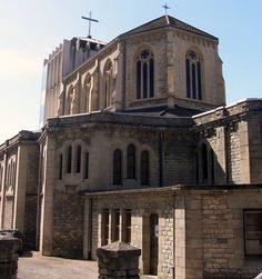 L'église Sainte-Jeanne-d'Arc de Besançon.  Besançon. Franche-Comté