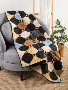 EXCLUSIVELY ANNIE'S QUILT DESIGNS: Coffee & Bow Ties Quilt Pattern