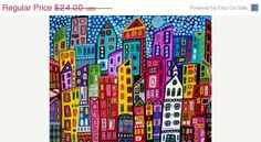 30 SALE ENDING SOON  New York City Art Poster by HeatherGallerArt,