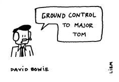 David Bowie. Space Oddity.