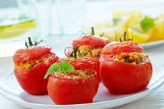 Faszerowane pomidory-smaczny sposób na zdrowie