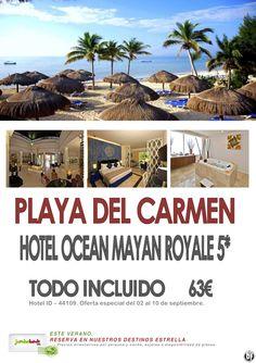 ¡¡¡Disfruta de las playas paradisiacas de Playa del Carmen - Htl. 5* dsd. 63 pax/día en TI!!! - http://zocotours.com/disfruta-de-las-playas-paradisiacas-de-playa-del-carmen-htl-5-dsd-63-paxdia-en-ti/