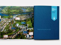 St Marys University College Undergraduate Prospectus dust jacket cover