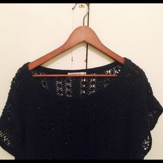 Anthropologie Sam and lavi summer crochet dress See through crochet dress perfect for the beach over bikini or body fit simple black or white dress under Anthropologie Dresses Mini