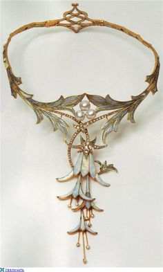 Jewelry Art Nouveau. Creativity Georges Fouquet (Georges Fouquet, 1862 -1957).