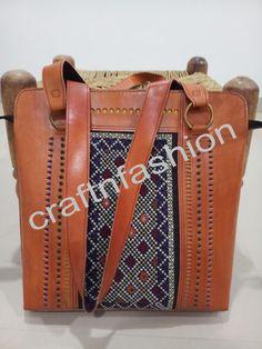 Hippie Boho Style Fabric Leather Bag For Ladies Fringe Handbags, Leather Handbags, Leather Bag, Fashion Bags, Boho Fashion, Mirror Work, Indian Ethnic, Hippie Boho, Boho Style