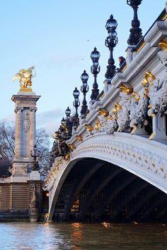 Paris, Pont Alexandre III by currystrumpet, via Flickr