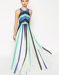 This maxi dress is a total head turner.