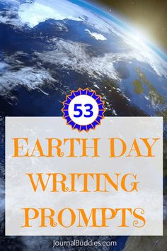 With these Earth Day journal writing prompts, you can encourage students to think about important issues while helping them to learn the value of their thoughts.