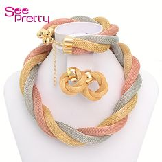 Cheap set mickey, Buy Quality set trigger directly from China set title Suppliers: Seepretty Gold Plated filled Necklace bracelet, Women Indian elegant wedding for party Dubai Fashion beads Jewelry Sets A078