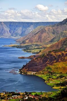 Lake Toba , Indonesia.