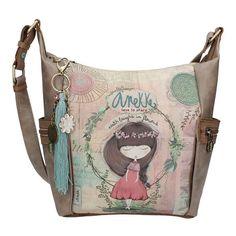 Anekke Nature Τσάντα ώμου Crossbody Bag, Tote Bag, Cute Woman, Online Bags, Santorini, Different Styles, Diaper Bag, Chanel, Shoulder Bag