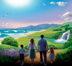 There's a New World coming.and promised in the Bible as part of Gods grand purpose.and a core teaching of the Bible. Life In Paradise, Paradise On Earth, Jehovah Paradise, Way Of Life, Life Is Good, Real Life, Paradise Pictures, Heaven Pictures, Revelation 21