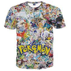 70752cdf 12 Best pokemon t-shirt images | Fashion styles, 3d t shirts ...