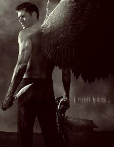 If Dean had accepted being Michael's vessel. <--- not normally into fan art but this is just WOW!