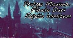 Protego Maxima - Fianto Duri - Repello Inimicum #HarryPotter  #Hogwarts #Spell #Protect