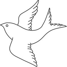 bird clipart bird clipart image bird in flight outline drawing coloring page