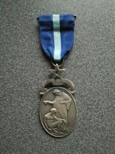 Masonic+Hospital+Jewel+With+Ribbon+Medal+VGC+