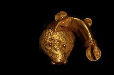 Mud fish gold ring