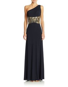 Capsleeve Lace Evening Gown from Lord & Taylor on Catalog Spree ...