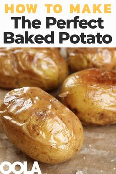 Our recipe and guide for how to make the perfect baked potato.