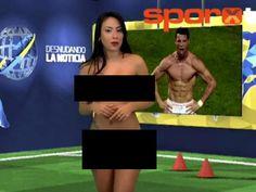 Cristiano Ronaldo   Bicarakan Ronaldo, Presenter Wanita Ini Telanjang Bulat di TV! - Bola.net