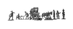 El vivac con el furgón de la cantinera (Manufactura Histórica de Soldados de Plomo) Subido desde www.elgrancapitan.org