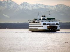 The Ferries are a Seattle icon, and a trip on one over Bainbridge can make for a fun day out of the city