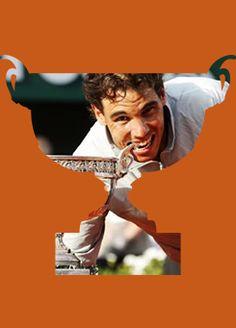 Rafael Nadal winning Roland Garros 2014. #Rafa #Nadal #FrenchOpen #RolandGarros