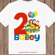 The Wiggles Birthday personalized tshirt shirt by maryahdesigns, $13.00