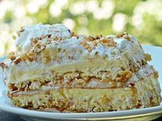 Jedna od najljepših torti koja se topi u ustima! Torte Recepti, Kolaci I Torte, Bakery Recipes, Cookie Recipes, Dessert Recipes, Croation Recipes, Posne Torte, Torte Cake, Sweet And Salty
