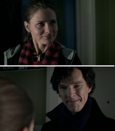 Molly Hooper and Sherlock. Beautiful character development.