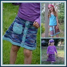 Ravelry: Pippa pattern by Rachel Evans Hand Knitting, Knitting Patterns, Rachel Evans, Knit In The Round, Knit Skirt, Every Girl, Free Crochet, Ravelry, Baby Kids
