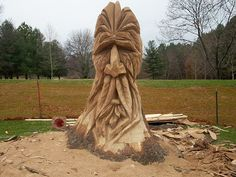 My Journey: A Life Illustrated in Words & Photos: Druid Hill Park: Tree Carving Sculptures