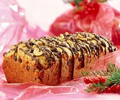 Chocolate-Cashew Bread Looking for a one-of-a-kind Christmas gift idea? This fabulous quick bread is sure to delight friends, neighbors, or teachers. Wrap the loaves in red cellophane before you share it.