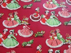 vintage christmas gift wrap flickr - Yahoo Canada Image Search Results