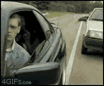 Funny pictures about How to handle road rage. Oh, and cool pics about How to handle road rage. Also, How to handle road rage photos. Funny As Hell, The Funny, Funny Videos, Beste Gif, Meanwhile In Russia, Funny Jokes, Hilarious, Road Rage, Adult Humor
