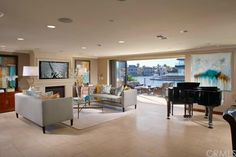 Newly constructed waterfront home incorporates the indoor/outdoor living style.
