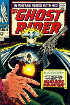 1967 Alley Award - Western Title -Ghost Rider(Marvel Comics)