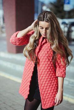 Crochet patterns: Free Crochet Patterns For 3 Winter Coats - Easy Crochet Winter Coat Ideeas